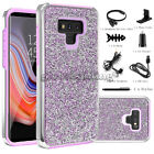 Samsung Galaxy S8 /S9 Plus Note 9 Hybrid Bling Shockproof Protective Case Cover