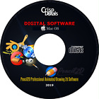 NEW Pro Pencil2D Animation and Drawing Software CD For Windows & Mac OS X