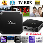 X96 Mini Android 7.1 TV Box WiFi 4K Set Box Media Player +Air Mouse Keyboard Lot