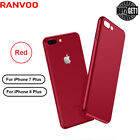 RANVOO For iPhone 8Plus 7Plus Case Protective Fit Hard Anti Scratch Cover Red