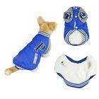 Pet Dog Cat Winter Warm Coat Jacket Puppy Fleece Sport Clothing Apparel Costume
