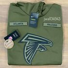 Nike ATLANTA FALCONS 2018 Mens NFL Salute to Service Therma Performance Hoodie $189.99 USD on eBay