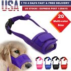 Kyпить Dog Muzzle Anti Stop Bite Barking Chewing Mesh Mask Training Small Large S-XL US на еВаy.соm
