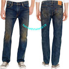 LEVIS 513 SLIM STRAIGHT SINKYONE WASH JEANS 08513-0609 MENS SIZE 33X32,34X30