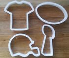 Superbowl National Football League Cookie Cutter Biscuit Dough Pastry Fondant $14.91 USD on eBay