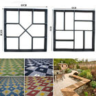 Crazy Driveway Concrete Paving Patio Garden Path Maker Brick Floor Tile DIY Mold image