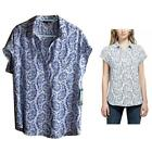 Pleione Womens Short Sleeve Blouse Top Choose Size & Color New