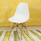 Dining Chair Vintage Eiffel Retro Wooden Legs Dining Room Office Lounge Chair UK