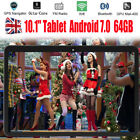 """10.1"""" Inch Tablet Pc Android 6.0 Google Gps Quad-core Wifi 32gb Dual Camera Uk"""