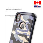 Apple IPhone XS and Iphone X Case Hybrid Shockproof Camo Heavy Armor Case Cover,