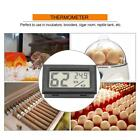 Embedded Digital LCD Thermometer Hygrometer Humidity Room with Probe Incubators