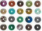 1 - Gemstone 40mm donut focal point  jewelry supplies Many to choose from