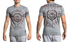 American Fighter Men's Weathers Tee Shirt Heather Gray