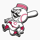 Cincinnati Reds vinyl sticker for skateboard luggage laptop tumblers car (c) on Ebay