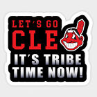 Cleveland Indians vinyl sticker for skateboard luggage laptop tumblers car (d) on Ebay