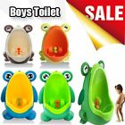 Baby Boys Frog Toilet Potty Training Kids Toddler Urinal Bathroom Pee Trainer be image