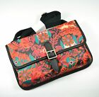 FOSSIL Keyper Mini Cross-body Bag Floral Coated Canvas Multi-color