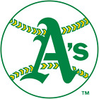 Oakland Athletics vinyl sticker for skateboard luggage laptop tumblers car (d) on Ebay