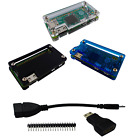 4 in 1 Starter Accessory Kit for Raspberry Pi Zero With Case USA Comb Ship