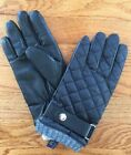 Polo Ralph Lauren Men's Quilted Leather Polyester Gloves New M L XL