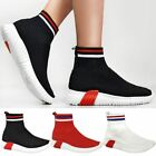 Womens Ladies Speed Trainers Sock Sneakers Runners Stretch Fitness Gym Stretch