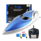 2.4G RC Racing Boat High Speed 180° Flip Water Cooling Remote Control Toys Gtfis