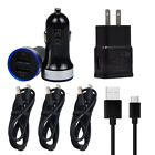 For Samsung Galaxy Note 9 8 S10e S10 S9 S8 Fast Cell Phone Car Wall Charger Cord