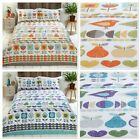 Rapport Hygge Floral Birds Duvet/Quilt Cover Bedding Set Multi or Blue