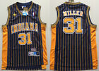 Men's Indiana Pacers Basketball Jersey NO.31 Shirt Reggie Miller Mesh Navy blue on eBay