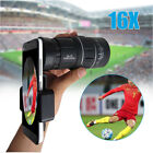 16x52 High Power HD Dual Focus Zoom Monocular Telescope with Phone Holder Tripod