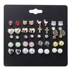 Cute Alloy Dripping Insect Artificial Pearl Stud Set GIFT