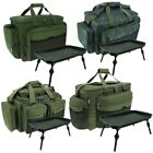 NEW FISHING TACKLE BAG CARRYALL HOLDALL WITH CARP FISHING BIVVY TABLE NGT