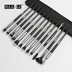 MAANGE 3/5/12Pcs Makeup Brushes Set Eye Shadow Blending Eyeliner Eyebrow Brushes