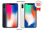 APPLE iPHONE X (64GB / 256GB) - Space Gray / Silver (Unlocked) A1901 (GSM)