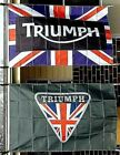 Advertising Triumph Motorcycle Logo Flag 3'x5' Vehicle Make Banner Car Sign $14.95 USD on eBay