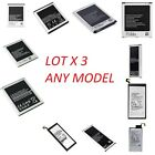lot 3 new samsung galaxy s6 s7 edge plus s8 plus note 3 note 4 note 5 battery