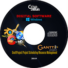 NEW GnattProject Project Scheduling Resource Management Software Windows