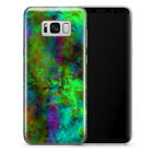 NEW PSYCHEDELIC MARBLE COSMOS COLORFUL ILLUSION PHONE CASE COVER FOR SAMSUNG