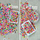 4X Colorful 100g DIY Polymer Clay Fake Candy Sweet Sugar Sprinkles Beauty DecorG image