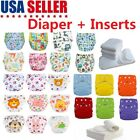 Kyпить 5 Pack Diapers Inserts Adjustable Reusable Baby Washable Cloth Pocket Nappies US на еВаy.соm