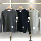 2019 Fashion THOM BROWNE Men Women hoodie Sweatshirt Long Sleeve coat NEW