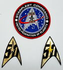 2016 Star Trek 50 Years 50th Anniversary Patch Collection-Your Choice of 3 on eBay