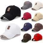 Men's Polo Baseball Cap Outdoor Golf Caps Cotton Adjustable Sports Sunhat Hats