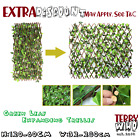 Trellis Artificial Plant Expanding Garden Wall Leaf Wood Fence Uv Protected