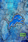 DETROIT LIONS Poster, Detroit Lions Print Free Shipping Us $24.99 USD on eBay