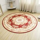Rug Round Jacquard Countryside Carpets For Living Room Flower Bedroom Rugs And C