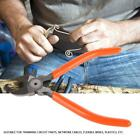 Electronic Diagonal Pliers Cable Side Cutting Nippers Wire Cutter (5/6mm)