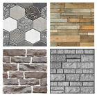 3d Wall Paper Brick Stone Vintage Effect Self-adhesive Wall Stickers Home Decor