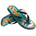 Miami Dolphins NFL Unisex Gradient Flip Flops, 5 Sizes, FREE SHIP on eBay