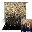 Gold Glitter Sequin Spot Backdrops Starry Sky Shining Astract Photo Background